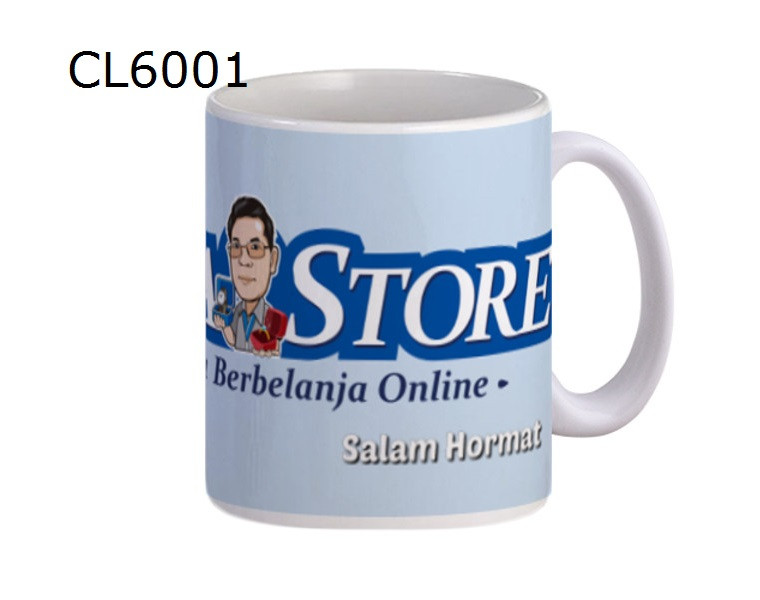 CL6001 Mug Biru Muda