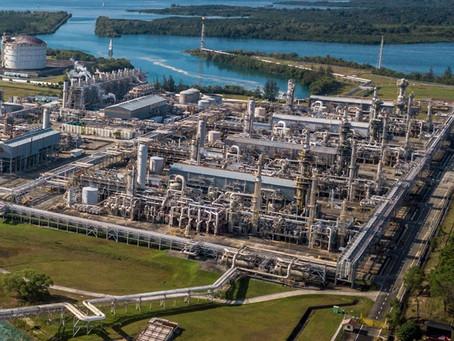 Ledakan Akibat LNG Masuk Saluran Air