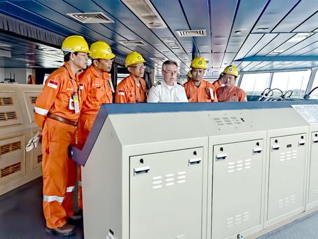 Joining BP Tangguh LNG