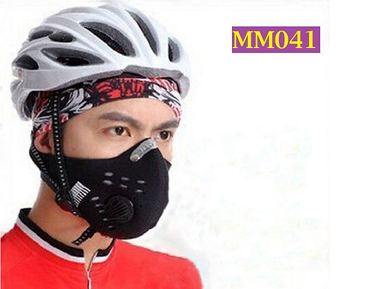 Masker Motor Setengah Muka Anti Polusi - MM041