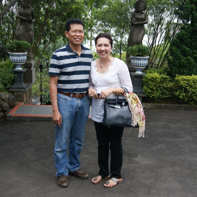 At Michael Resort, Bogor 2011