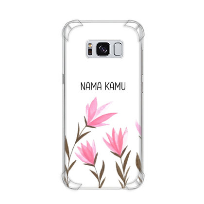 Casing HP Samsung Galaxy S8 Anticrack Custom CL2009