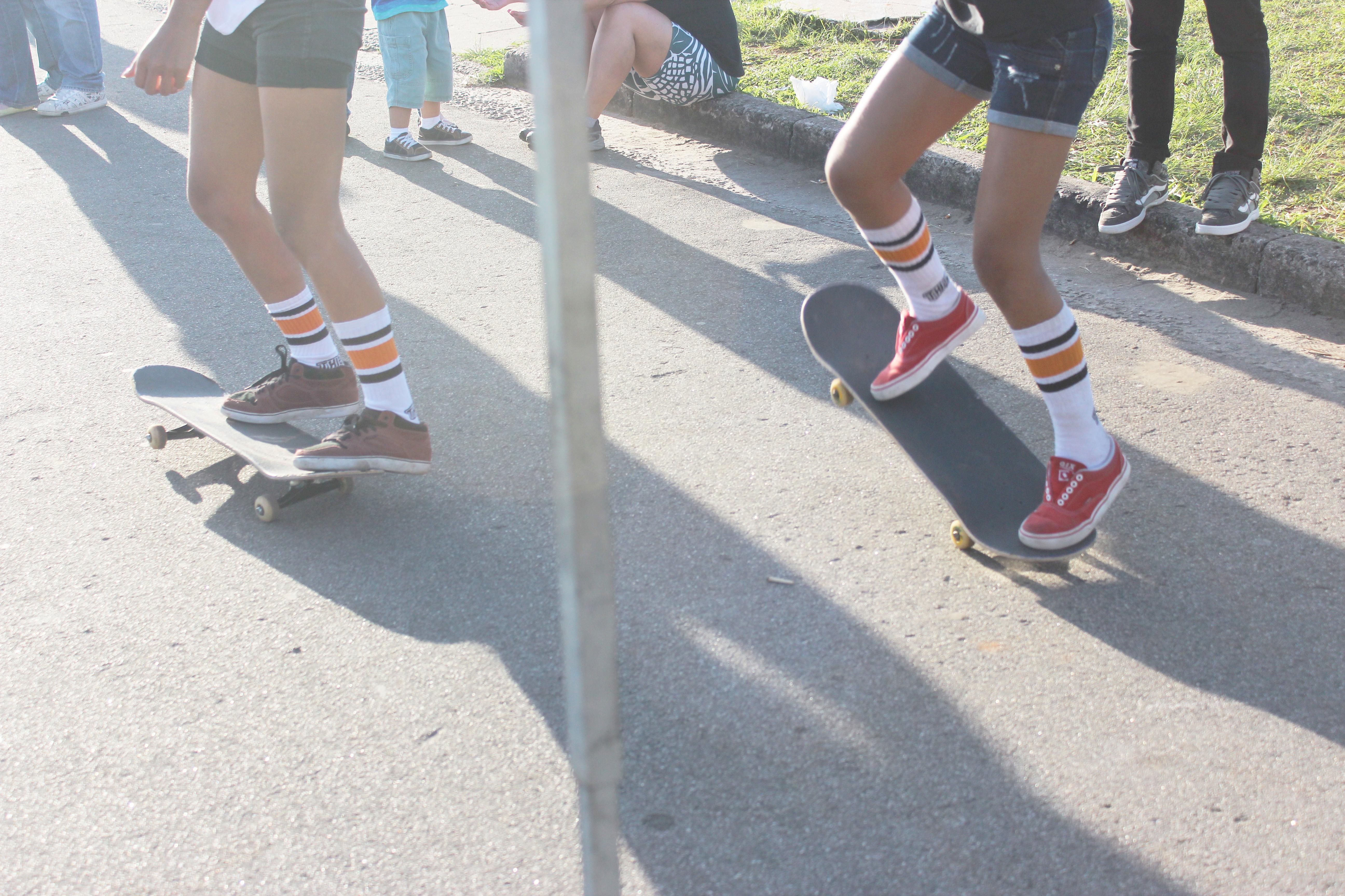 apresentação de skate