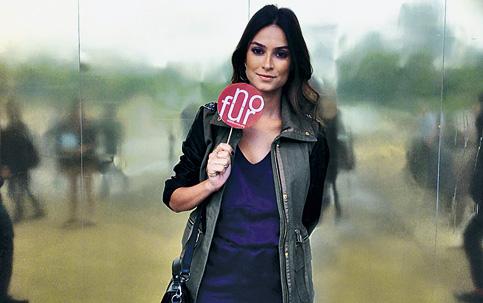 thaila ayala apoia a campanha