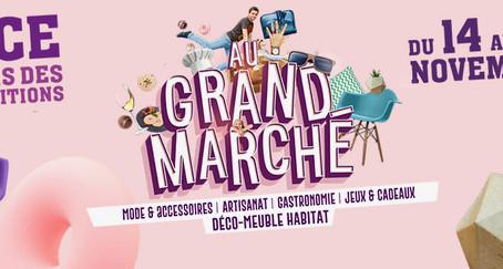 L'atelier Chameau Blanc au Grand Marché de Nice.