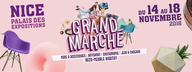 Pour vos cadeaux de Noël, venez me retrouver au Grand Marché de Nice (Parc des expositions) du 14 au 18 novembre 2018