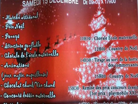 L'ACB au marché de Noël de Boulouris