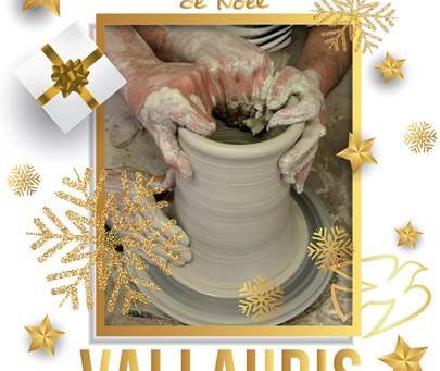 Marché potier de Noël à Vallauris