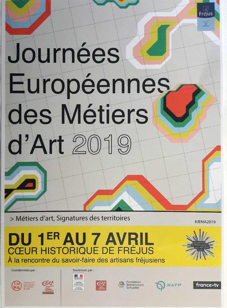 L'atelier Chameau Blanc participe aux Journées européennes des métiers d'art