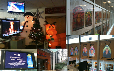 Let it snow! News on Tesco Finder, Beta 1 API lockdown and Tesco.com HQ festive decor.