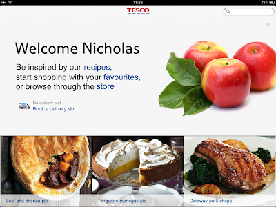 New version of Tesco Recipes for iPad now live on App Store