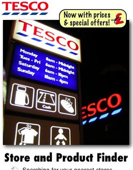 New Release of Tesco Finder Features Prices and Offers