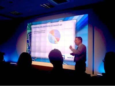 Tesco.com Marketing's Ian Crook at Nokia World