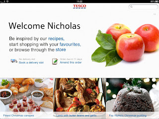 Tesco Recipes App for iPad launches