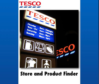 Tesco Store and Product Finder – Live in the Apple iTunes App Store!