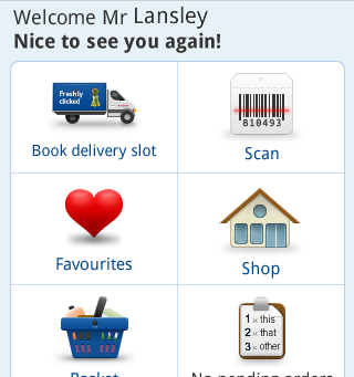 Speak or Scan – Tesco Groceries for Android launches