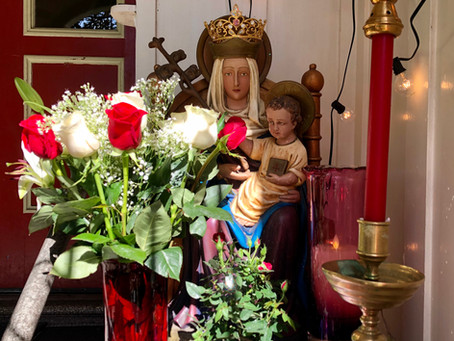Crowning Mary in the Month of May