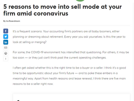 5 reasons to move into sell mode amid coronavirus