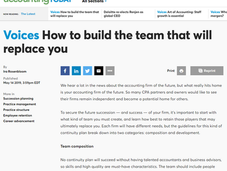 How to Build the Team That Will Replace You