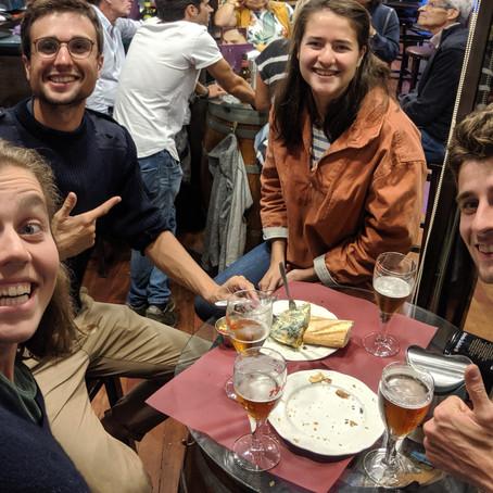 Sauts de puces entre Gijon et Vigo