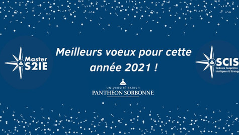 Vœux pour l'année 2021