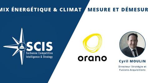 Orano - Mix énergétique & Climat avec Cyril MOULIN