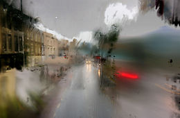 London's pouring I