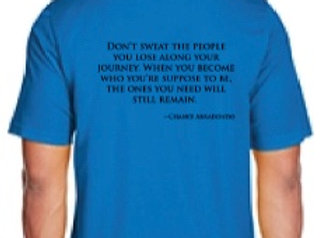 CA Shirt w/ Droppin' Jewels Quote