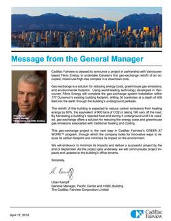 777 Dunsmuir Geo-Exchange