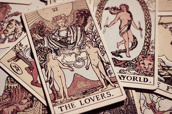 Tarot Card - The Lovers..jpg