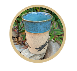 GOLD CIRCLE Lindie Lou's Pottery.png