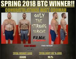 BTC WINNER SPRING 2018