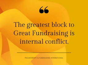 What does fundraising need to grow?