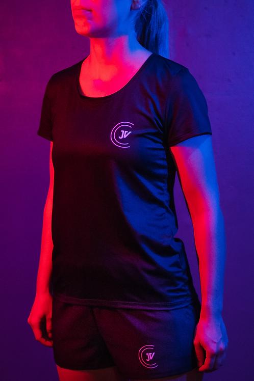 T-Shirt femme noir JV Coaching