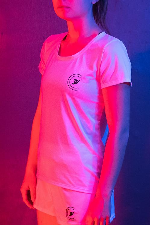 T-Shirt femme blanc JV Coaching