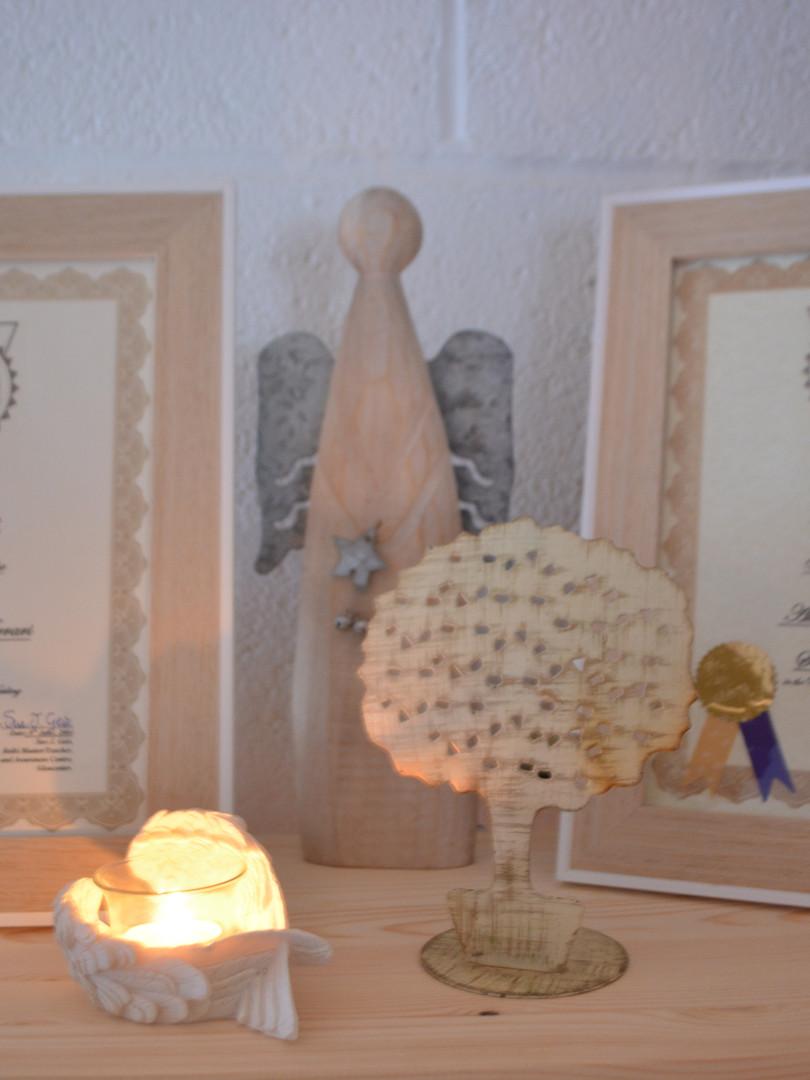 The Healing Tree Reiki certificates