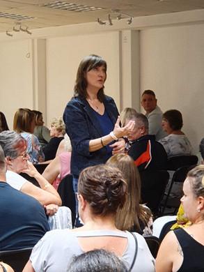 Medium Demonstration with Faye Casey in