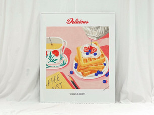 Waffle_3 / available for A2 Posters