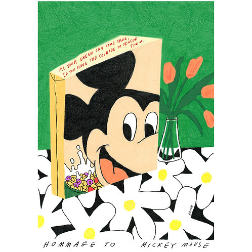 Poster Mickey mouse