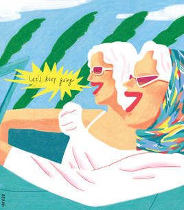 Thelma and Louise / available for A3 Posters