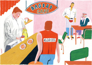 Bagdad cafe / available for A3 Posters