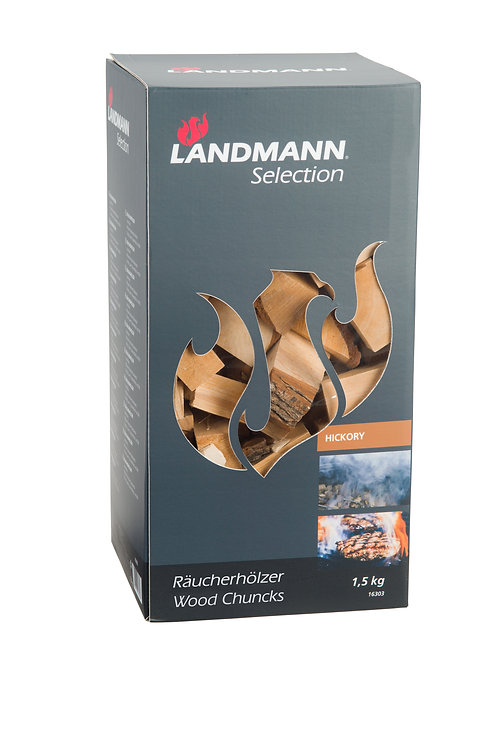 Landmann Hickory wood chunks 1.5kg