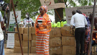 FarmSahel offers agricultural resources worth 5 million XOF (10,000 USD) to women in Bindé, Burkina