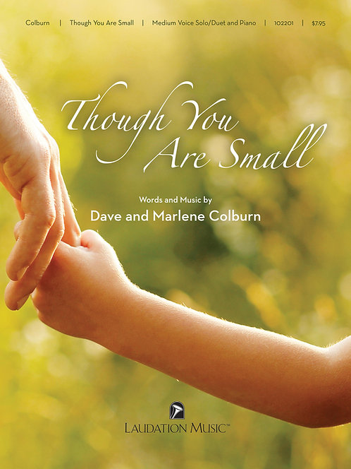 Sheet Music - Though You Are Small (3 Ranges)