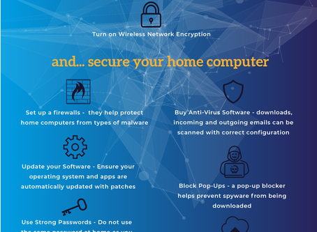Create a Cyber Secure Environment when Working from Home