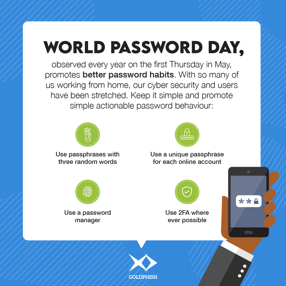 World password day tips to help you secure your passwords