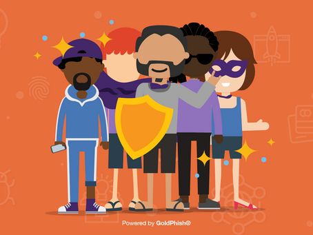 GoldPhish empowers cyber heroes - it's Cyber Made Simple!