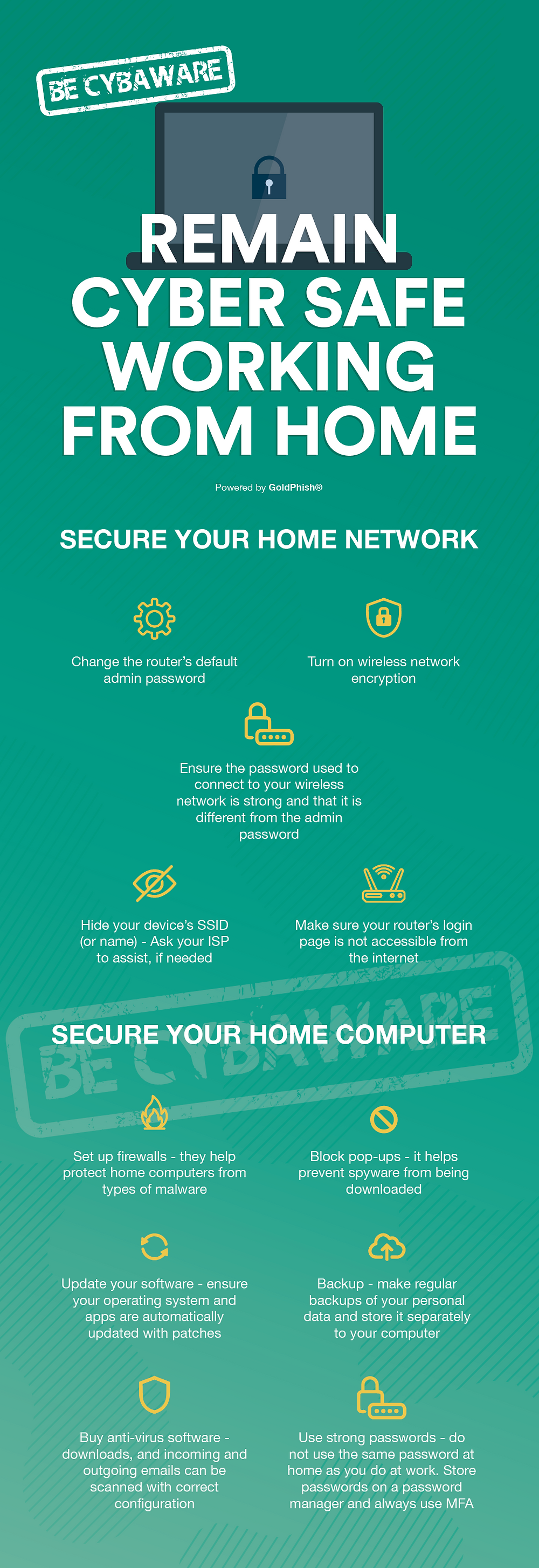 Remain cyber safe working from home