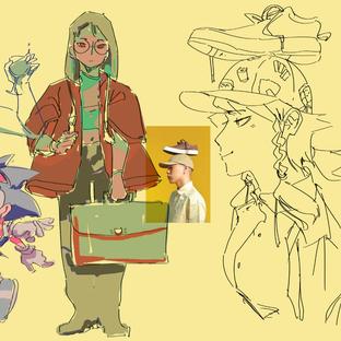 handful of doodles!