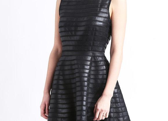 Gina Leather Dress